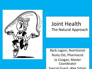 Joint Health 		 The Natural Approach
