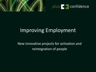 Improving Employment