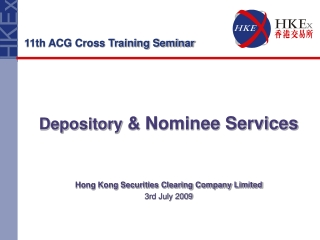 Depository  & Nominee Services