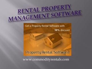 Property rental software