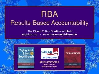 RBA Results-Based Accountability