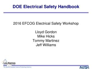 DOE Electrical Safety Handbook