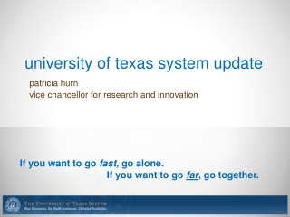 university of texas system update