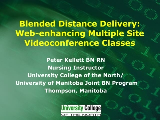 Blended Distance Delivery: Web-enhancing Multiple Site Videoconference Classes