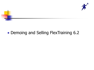 Demoing and Selling FlexTraining 6.2