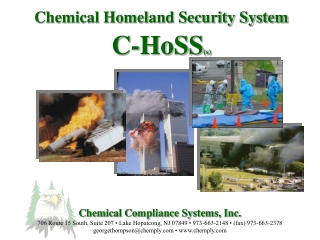 Chemical Homeland Security System