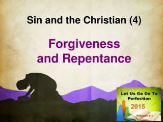 Sin and the Christian (4)