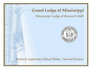 Grand Lodge of Mississippi