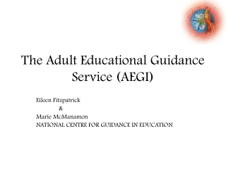 The Adult Educational Guidance Service (AEGI)