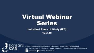 Virtual Webinar Series