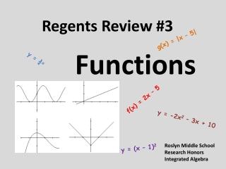 Regents Review #3