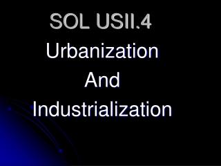 SOL USII.4