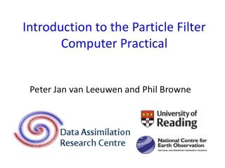 Introduction to the Particle Filter Computer Practical