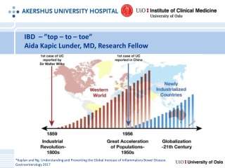 """IBD   – """" top  –  to  –  toe """" Aida Kapic Lunder, MD, Research Fellow"""