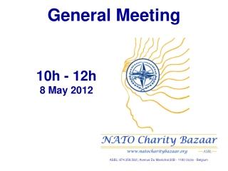 10h - 12h 8 May  2012
