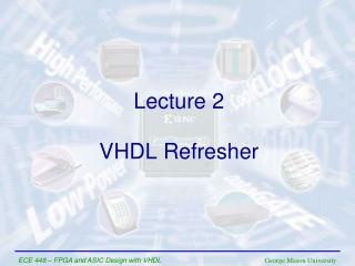 VHDL Refresher