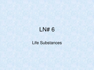 LN# 6