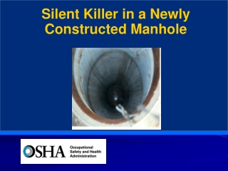 Silent Killer in a Newly Constructed Manhole