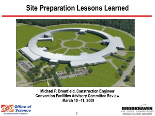 Site Preparation Lessons Learned