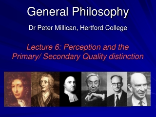 General Philosophy