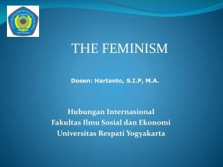 THE  FEMINISM