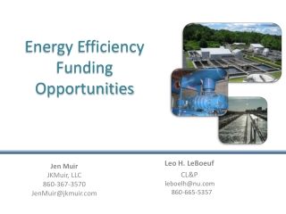 Energy Efficiency Funding Opportunities