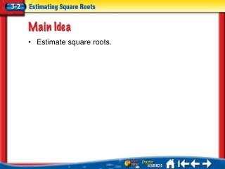 Lesson 3-2 Ideas/Vocabulary