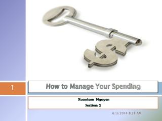 How to Manage Your Spending