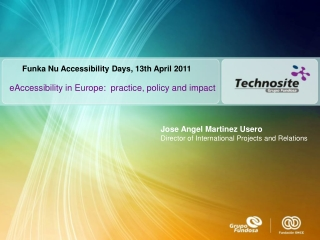 eAccessibility in Europe:  practice, policy and impact