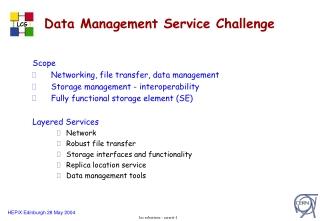 Data Management Service Challenge