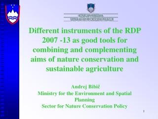 State of biodiversity in Slovenia