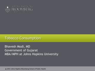 Tobacco Consumption