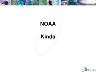 NOAA Kinda