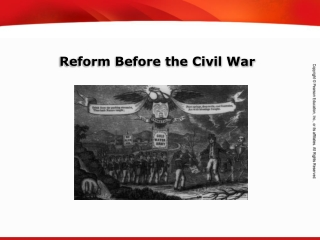 Reform Before the Civil War