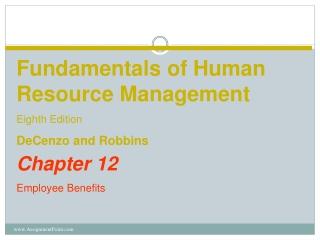 Chapter 12 Employee Benefits