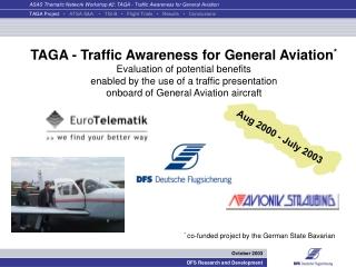 TAGA - Traffic Awareness for General Aviation *