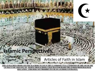 Islamic Perspectives