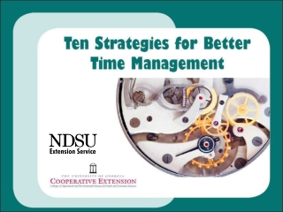 What happens when you  are  NOT practicing good  time management?