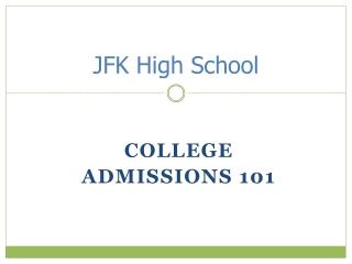JFK High School