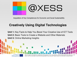 Creatively Using Digital Technologies