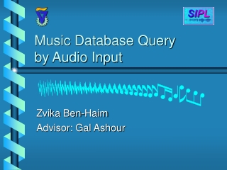 Music Database Query by Audio Input