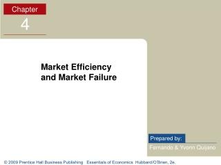 Market Efficiency and Market Failure