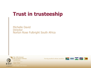 Trust in trusteeship