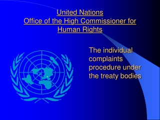 United Nations Office of the High Commissioner for Human Rights