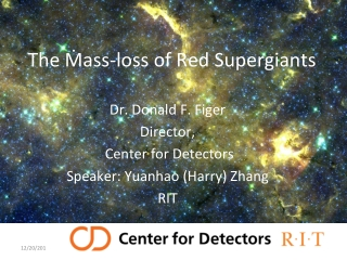 The Ṁass-loss of Red Supergiants