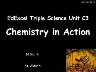 EdExcel Triple Science Unit C3
