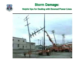 Storm Damage: Helpful tips for Dealing with Downed Power Lines