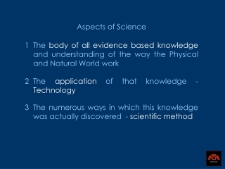 Aspects of Science