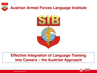 Effective Integration of Language Training  into Careers – the Austrian Approach