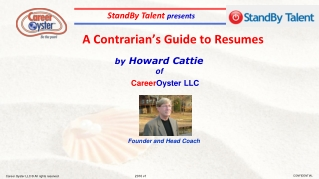 A  Contrarian's Guide to Resumes